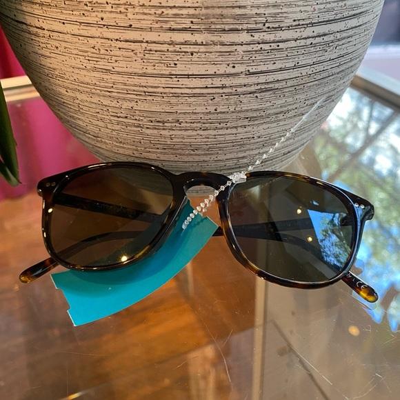Oliver Peoples Dark Tortoise Shell Sunglasses